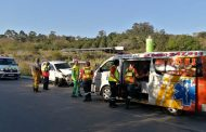 Two vehicles collide on the the P200 between Izotsha and Port Shepstone