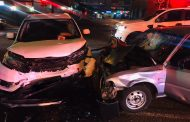 Three inured in collision at intersection in Craighall
