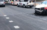 One injured in Sandton collision
