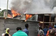 Informal homes destroyed in fire in Canelands