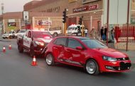 Three injured in collision at intersection in Kimberley