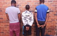 Three suspects arrested for business robbery by Heuningvlei SAPS