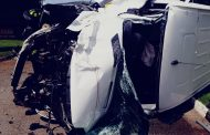 Crash victim seriously injured in road crash in Germiston
