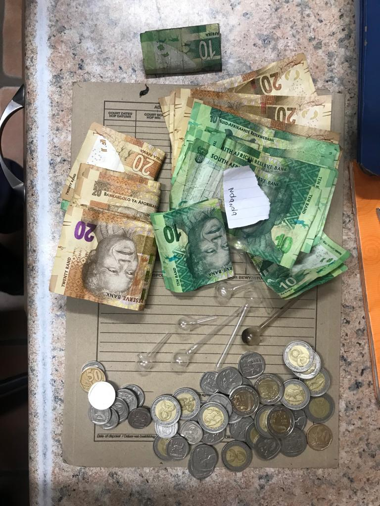 Female suspect arrested for dealing in drugs at Burgersdorp