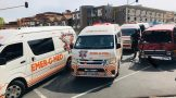 Multiple injured in a taxi collision in Randburg