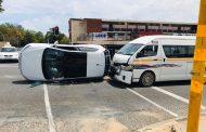 Three injured in a multi-vehicle in Randburg