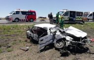 6-People were injured in a head-on collision between two cars near the Verkeerdevlei Toll Plaza
