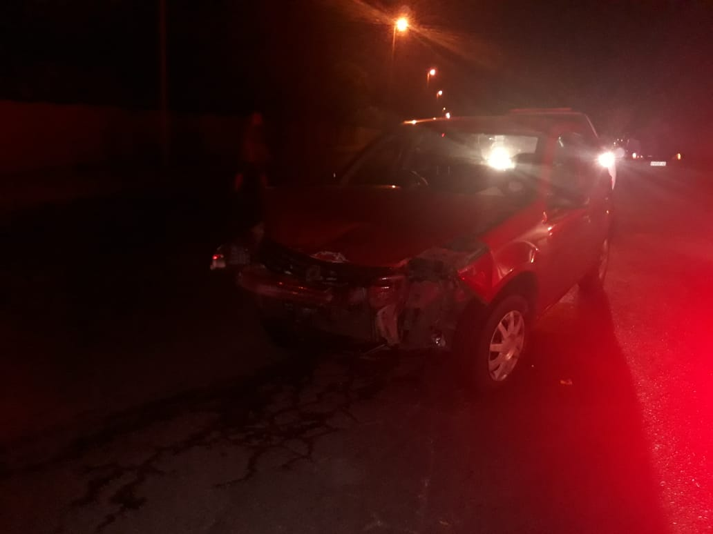 One injured in collision in Witfield