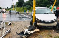 Two injured in road crash at intersection in Boskruin