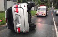 Two injured in road crash in Bryanston