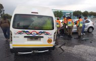 Multiple injured in a taxi collision in Robertville