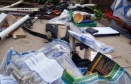 Police recover various ammunition and rifles