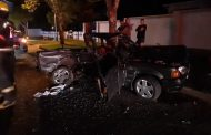 Driver injured in collision in Florida