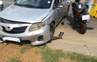 One injured in a collision Pretoria