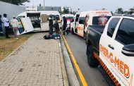 Taxi collision leaves multiple injured in Fourways