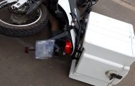 Biker crashes into a vehicle in Phoenix