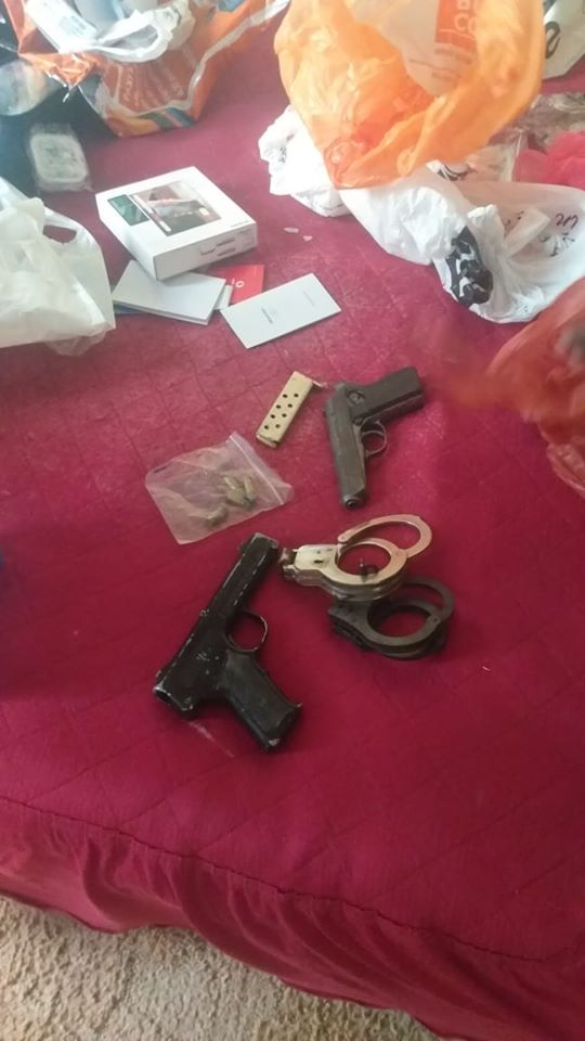 Four suspects arrested for armed robbery