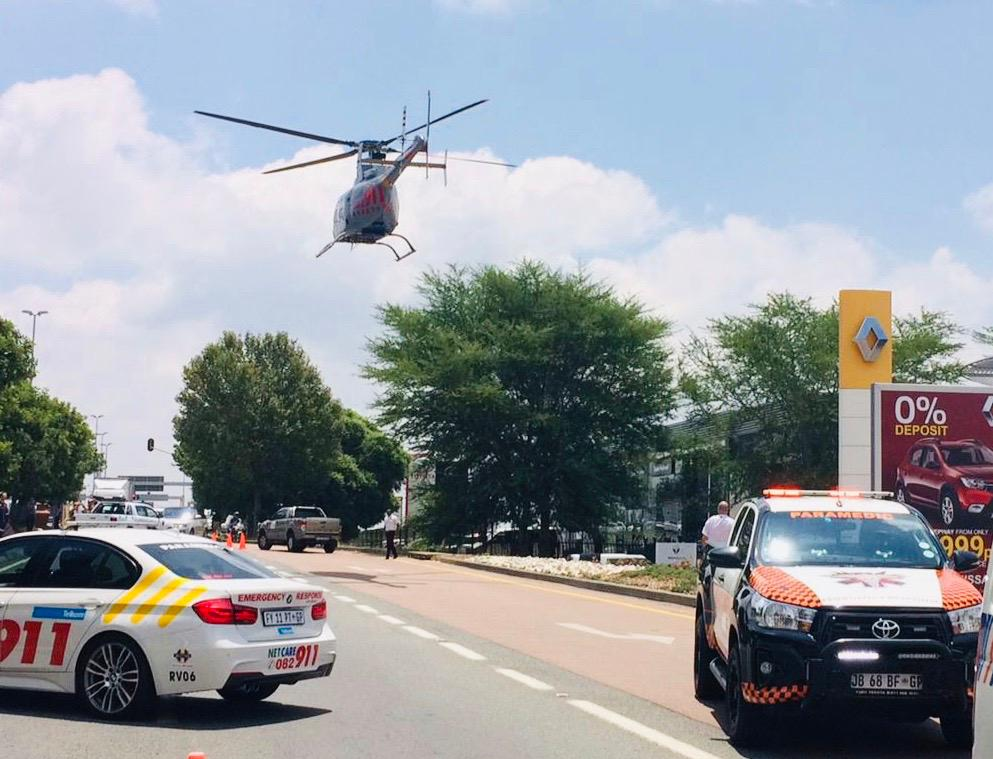 Two seriously injured in a shooting incident in Midrand