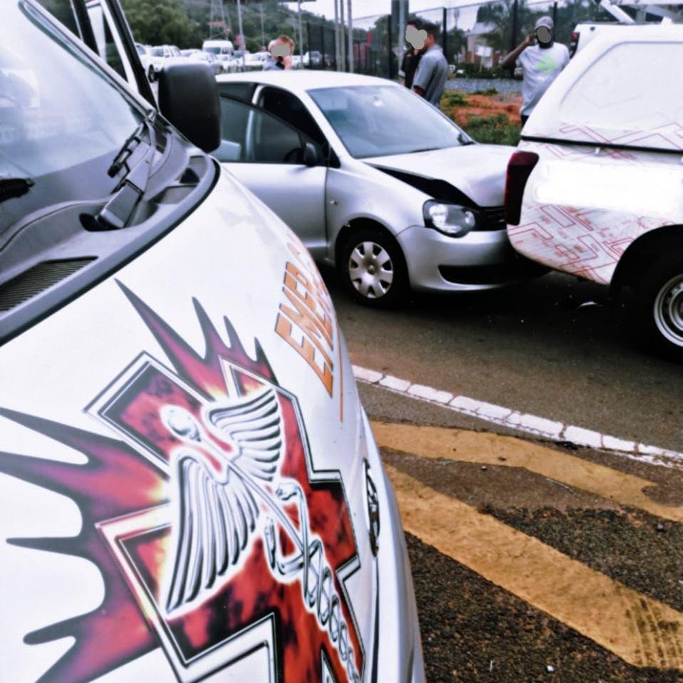 One injured in a collision in Pretoria