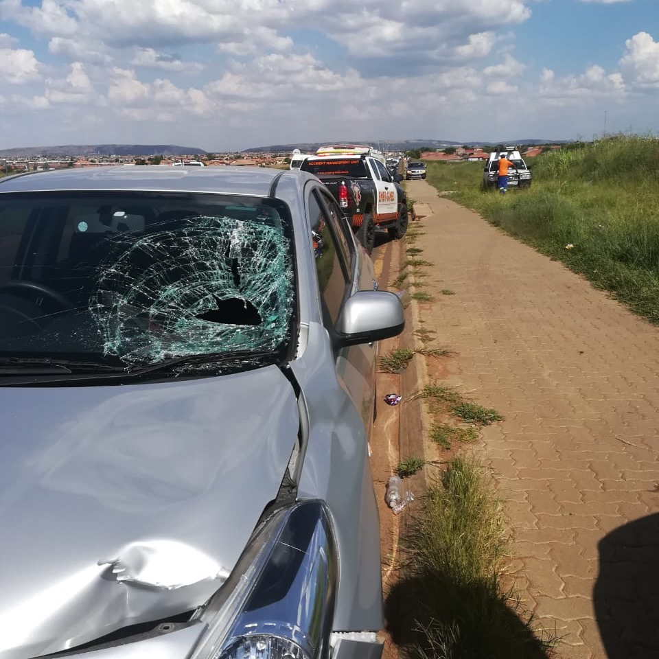 Pedestrian-vehicle collision leaves one seriously injured in Mamelodi