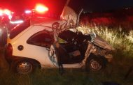 A man was critically injured following a collision between his car and a truck in Eikenhof