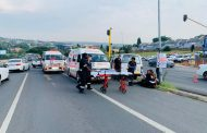 Multiple injured in a taxi collision in Sandton