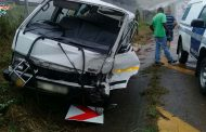 Multiple injured in a taxi collision on the N3