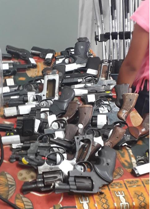 Illegal firearm owners get a second chance with the new Firearm Amnesty period.