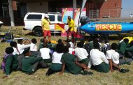 Water safety awareness taught to children in Port Elizabeth