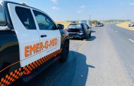 Vehicle collision on the N14