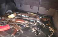Gauteng: Seven AK47s amongst high calibre firearms recovered during a foiled robbery
