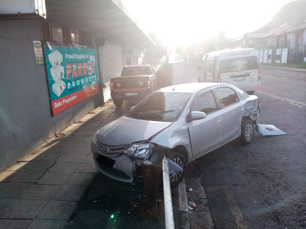 One injured in Hurst Hill collision