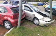 No injuries in collision at intersection in Harrismith