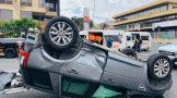 Multiple vehicle collision leaves four injured in Randburg