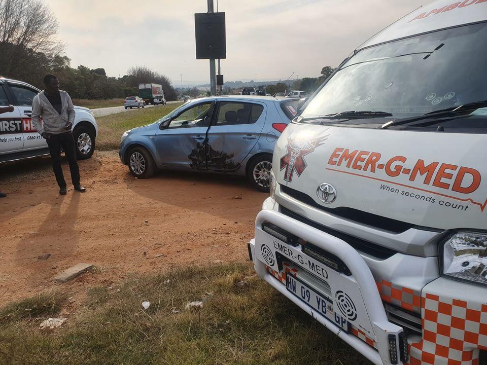 Vehicle collision in Hillfox
