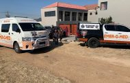 One treated for burns in an apartment that caught alight in Midrand