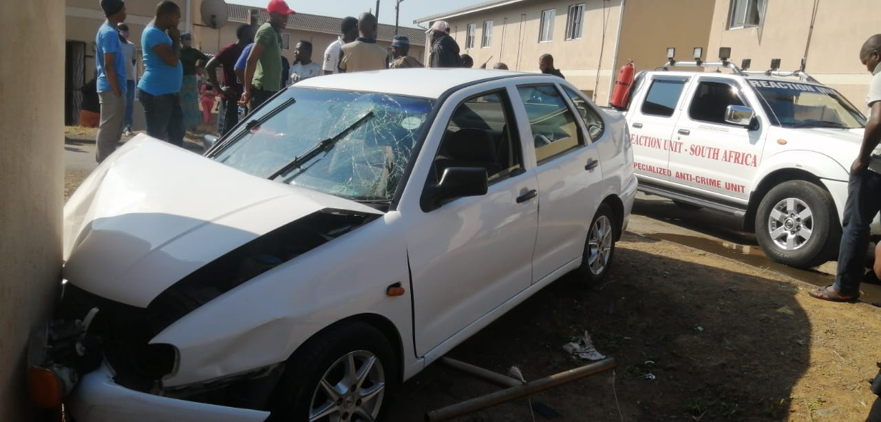 Minors injured in a vehicle collision Waterloo - KZN