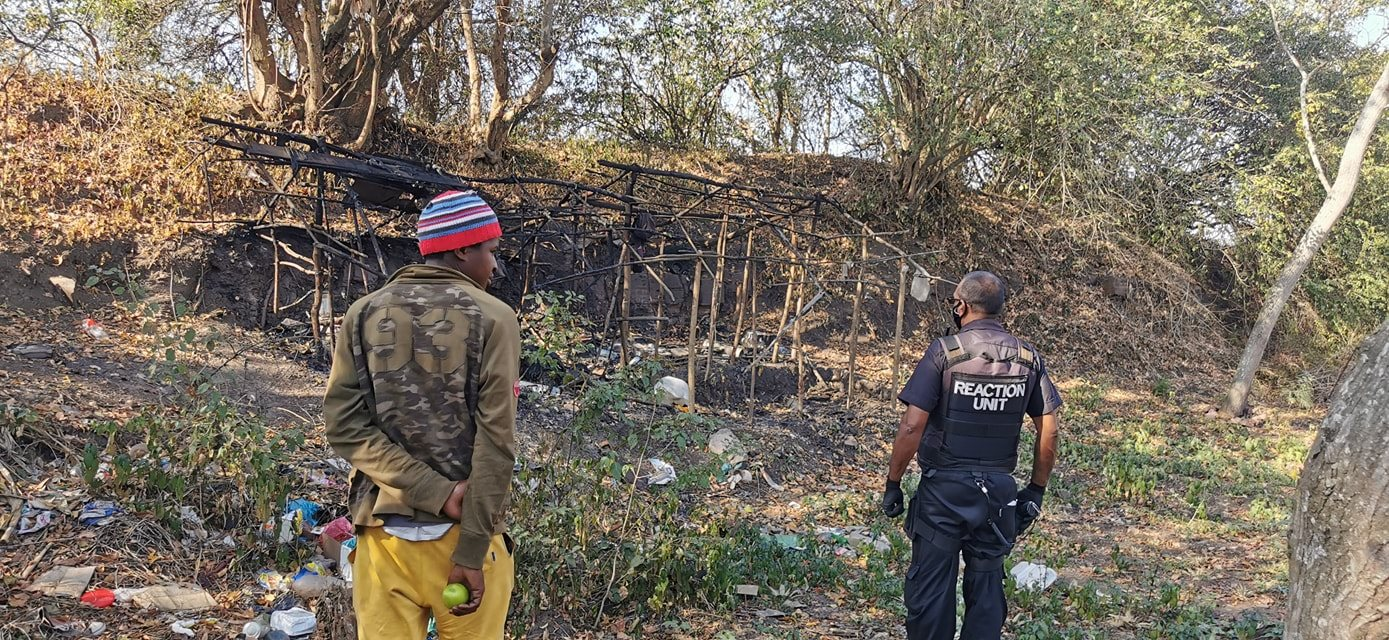 Passerby discovers charred remains in Tongaat