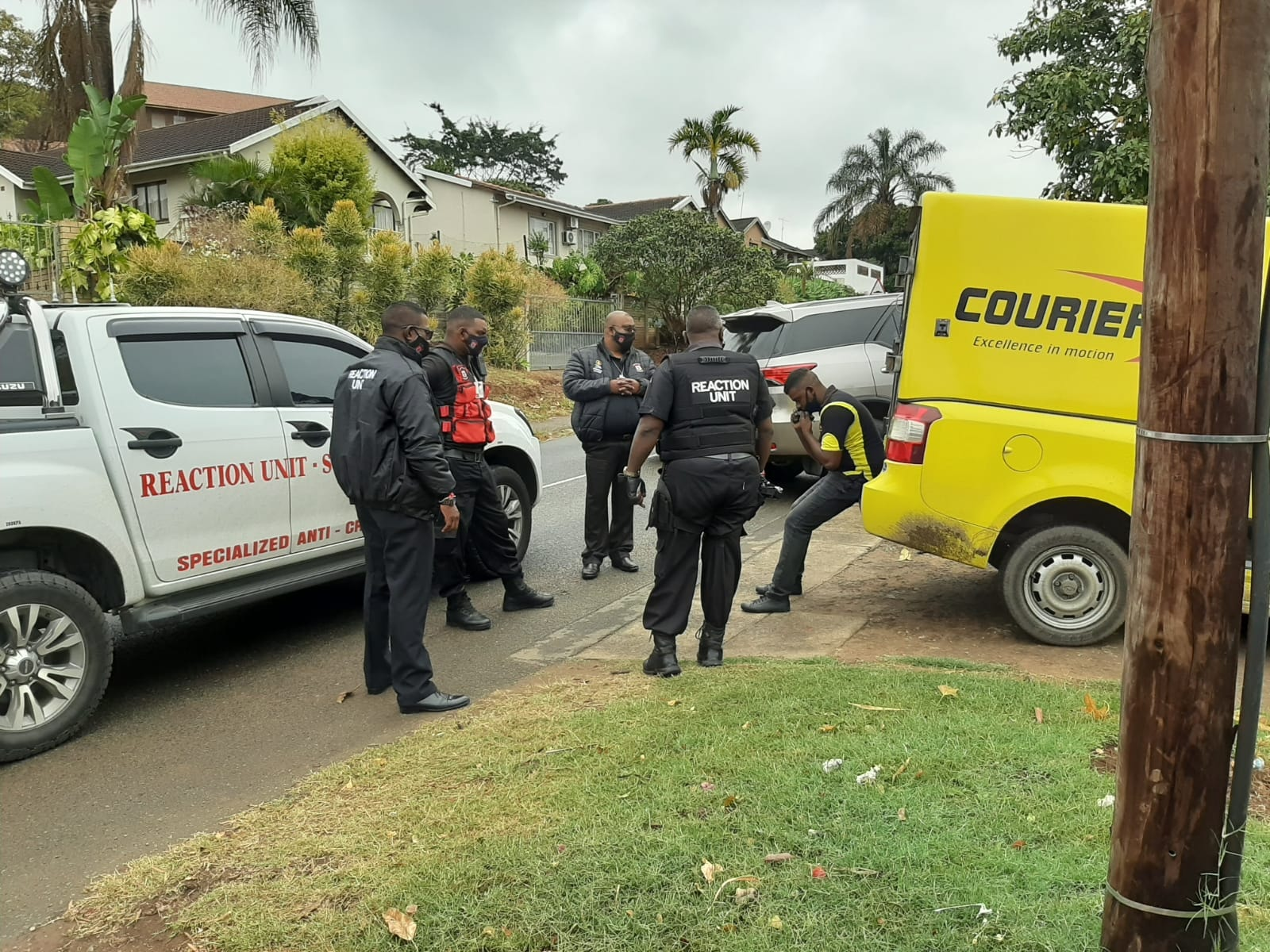 Courier company robbed in Brindhaven