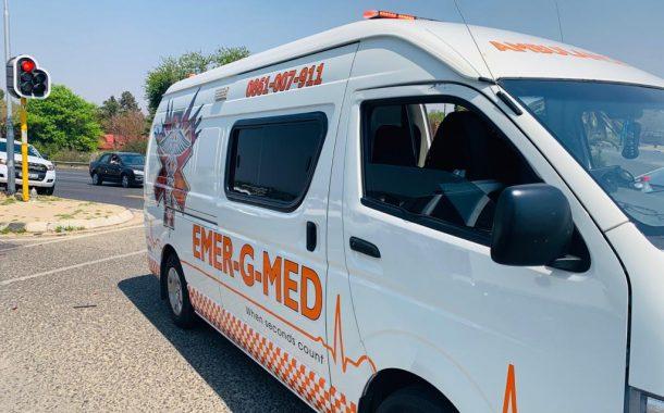 Three injured in a road crash in Randburg