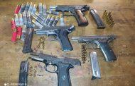 Four firearms seized in Dalton, three men due in court