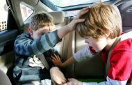 Tips to stop children from distracting you while you drive