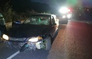 Two injured in a collision on the R102