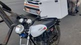Two injured in a collision involving a motorcycle and bicycle in Harrismith