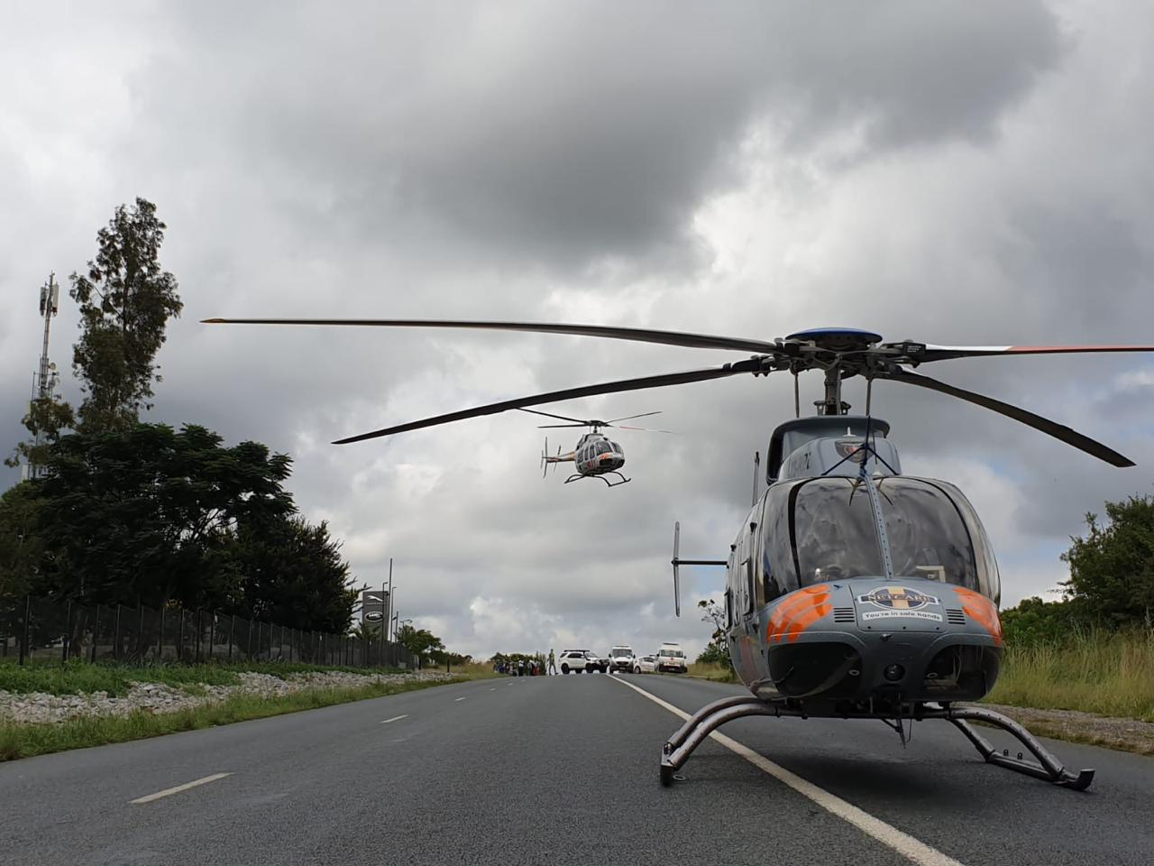 Multiple injured in a serious collision in Lonehill