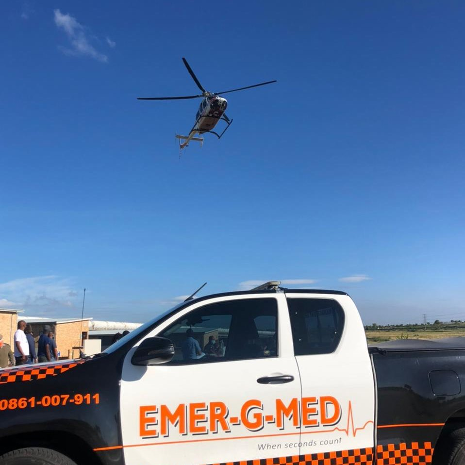 Two children injured in a collision in Riversands