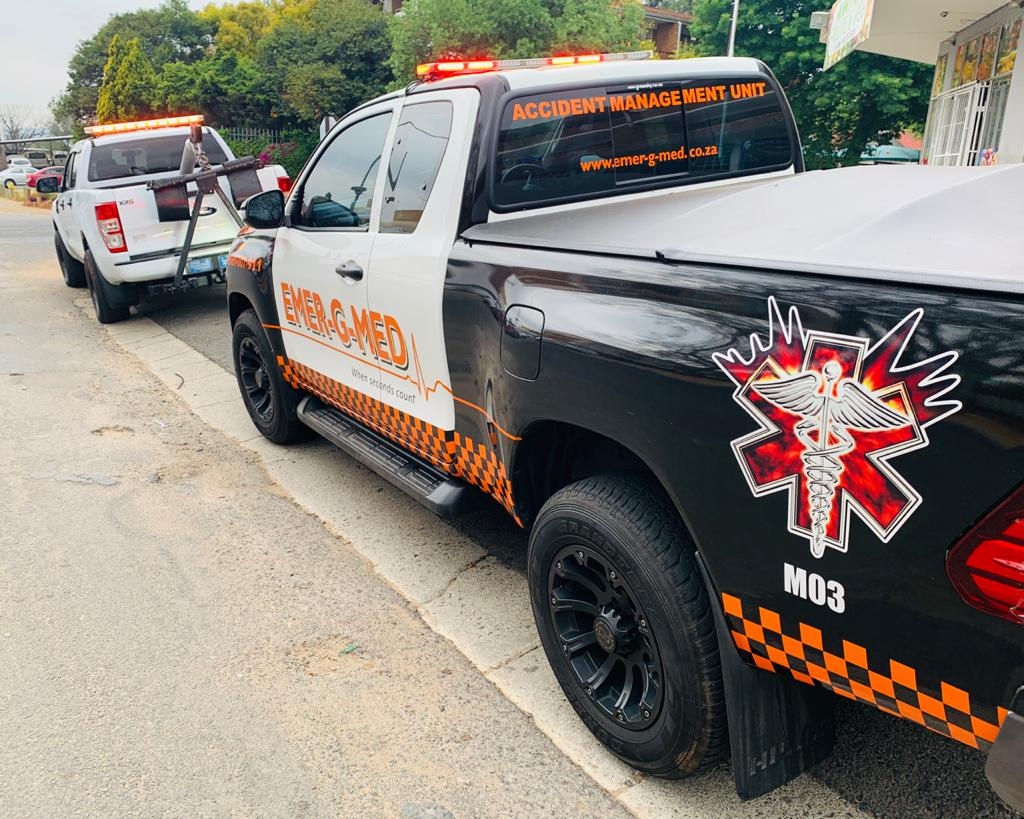 One injured in a single-vehicle collision on the N14