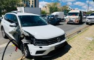 One injured in Craighall Park collision