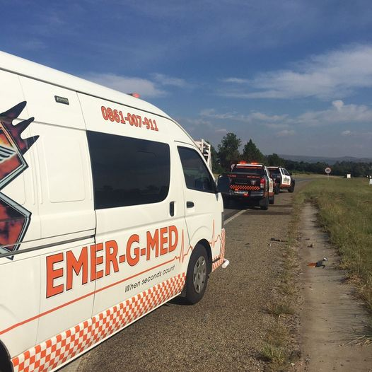One injured in a collision in Muldersdrift