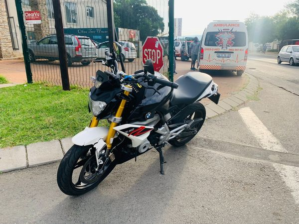 One injured in a motorcycle collision in Olivedale